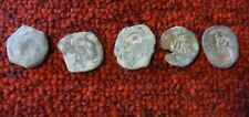 Colonial Spanish Cob coin Pirate Money 15th-17th c #B lot of 5