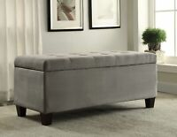Storage Ottoman Accent Contemporary Entryway Living Room Furniture Contemporary