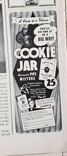Lot Vintage Pipe Tobacco Print Ads Briggs Cookie Jar Model Bond St 3 Squires