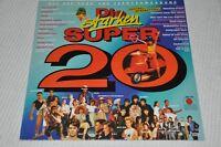 VA Sampler -Die starken Super 20 Original Hits 80er -Album Vinyl Schallplatte LP