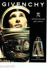 PUBLICITE ADVERTISING 096  1998  Givenchy eau toilette homme PI µ