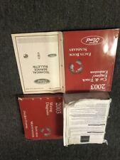 2003 Ford EXPLORER & Mercury MOUNTAINEER Service Shop Repair Manual Set W EWD +