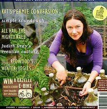 New Earth Garden Quarterly 168 Winter 2014 PB instock sourdough kale organics