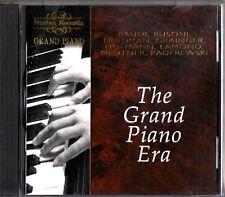 THE GRAND PIANO ERA - Liszt/Chopin/Bach/Schumann CD 1995 (Hofmann/Bauer)
