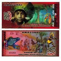 Equatorial Territories Amazonas Brazil 5 Francs 2014 Unc. polymer / 2517862vvv.