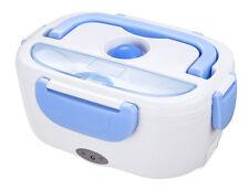 Elektrische Lunch Box Thermo Heizung Essenwärmer Isolierbehälter 1,5 L blau/weiß