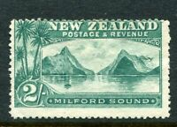 NEW ZEALAND....  1898  2/- milford sounds    mint