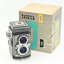 💙  Yashica D Twin Lens TLR 120 6x6 Film Camera. RARE Grey/Grey Colour. *IN BOX*