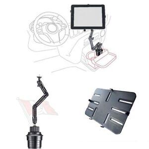 iPad Halter, Tablethalterung, Befestigung im Getränkehalter für Auto, LKW, DO-UP