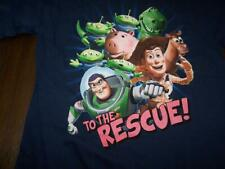 KIDS DISNEY TOY STORY T-SHIRT BUZZ TO THE RESCUE!  SIZE 5 / 6 100% COTTON