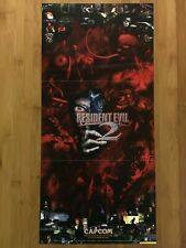 Official Resident Evil PS1 PSX Playstation 1998 Poster Authentic Promo PS4 Rare