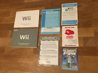 Nintendo Wii Instruction Lot Operations Manual Channels Settings System Setup