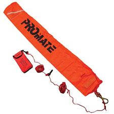 Scuba Safety Float Stop Anchor Dive Marker Rescue Gear (Long Type)