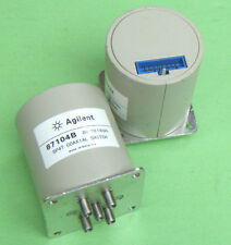 1pcs HP/Agilent 87104B DC-18GHz SP4T 24V SMA TTL Coaxial Switch #E02U  GY