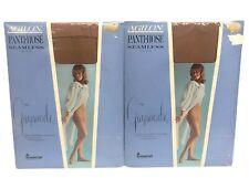 Lot 2 Vintage 60s Gaymode Agilon Panti-Hose Pantyhose Seamless Extra Long Xl