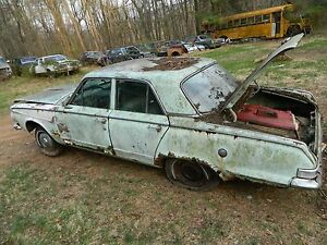 63 64 65 66 plymouth valiant dodge dart drivers side rear door glass clear