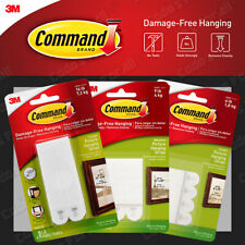 3M Command Strips Self Adhesive Picture Frame Hanging Strips Poster Strips S M L