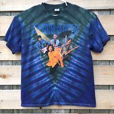 ROLLING STONES Vintage T-Shirt 90s CONCERT 1999 No Security TOUR Tie Dye XL (37)