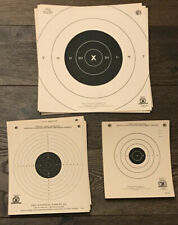 NRA Vintage Paper Pistol Targets