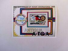 Barbuda Overprinted on $5. S/S, #460, Overprint visible on gum side, M/NH/VF