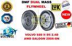 FOR VOLVO S80 II D5 2.4D AWD BERLINA 2006-ON NEW DUAL MASS DMF FLYWHEEL