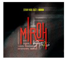 "STRAY KIDS 4th Mini Album ""Clé 1 : MIROH"" 2019 - 1 Photobook + 1 CD / MIROH Ver"
