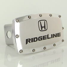 Honda Ridgeline Logo Chrome Billet W/ Allen Bolts Tow Hitch Cover