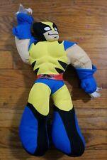 "Marvel 15"" Plush Stuffed Wolverine Animal Spider-Man and Friends 2008"