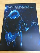 Gary Moore Bad For You Baby 2009 Tour Programme and ticket stub