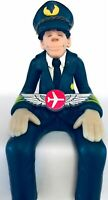 Airlines Pilot Pins 2 New Wings