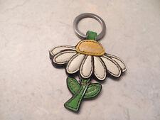 Coach Vintage Daisy Keychain (KeyFob)