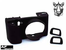 A33u Silicone Armor Skin Case + Two EyeCup for Sony Alpha A6000 A6300 FDA-EP10