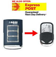 Boss Garage Door Remote BHT3/BHT-3/HT3/BOSS6 Replacement 433MHz BOL4/BOL6/OL4