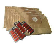 TWENTY Dust hoover Bags & Air Fresh  for Numatic GEORGE CHARLES EDWARD Vacuum