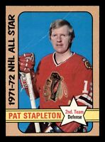 PAT STAPLETON 72-73 O-PEE-CHEE HIGH NUMBER 1972-73 NO 249 VGEX+ 18511