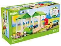 33953 BRIO World Summer House Wooden Village Railway Toy inc 26 pcs Children 3+