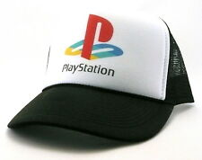 Vintage PlayStation Trucker Hat mesh hat snap back hat black New adjustable