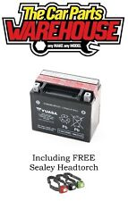 GENUINE YUASA YTX12-BS Bike & Quad BATTERY 10Ah 12V ACID GEL # Cheapest on Ebay