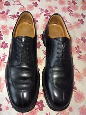 Church Mens Made In England Black Leather Derby Custom Grade Shoe Uk 6.5