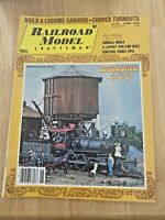 Railroad Model Craftsman June 1979 WW2 Nickel Plate Single Sheathed Boxcar Plans