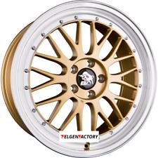 4x Felgen Ultra Wheels UA3-LM 8,5x18 ET45 5x112 Gold Rim Polished 66.60 Alufelge