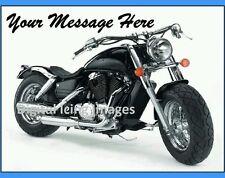 Cake topper edible digital image icing Harley Davidson bike REAL FONDANT A4