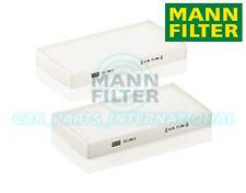 Mann Hummel Interior Air Cabin Pollen Filter OE Quality Replacement CU 1811-2