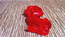 Vintage red cookie cutter baby Yakky duck Lowes 1956 4x2 In cartoon character