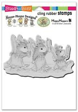 Stampendous House Mouse Cling Stamp Angel Procession
