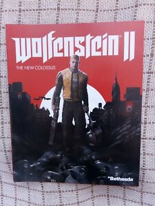 Wolfenstein II The New Colossuslaystation 4 PS4 Instruction Manual Only VGC