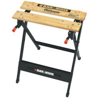 Black & Decker WM125 Workmate Portable Project Center & Vise, 350 lbs