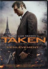 NEW DVD - TAKEN  -- Liam Neeson, Maggie Grace, Famke Jansse