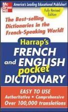 Harrap's French and English Pocket Dictionary Harrap VeryGood