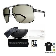 NEW Electric Visual Vegus  Matte Black  Mens Aviator Sunglasses Msrp$100